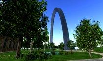 St. Louis Arch Virtual World