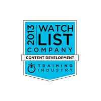 2013 Top Content Development Company Watch List