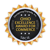 2013 Ohio Excellence Award for Commerce - Small  Business Institute for Excellence in Commerce Award