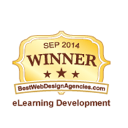 2014 Best of The Web - E-Learning Development Award