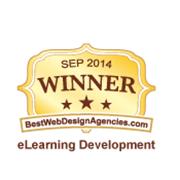 2014 Best of The Web - E-Learning Development Award