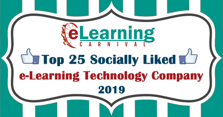 Designing Digitally Listed in Top 25 Socially Liked e-Learning Technology Companies