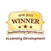 April 2015 Best of The Web - E-Learning Development Award