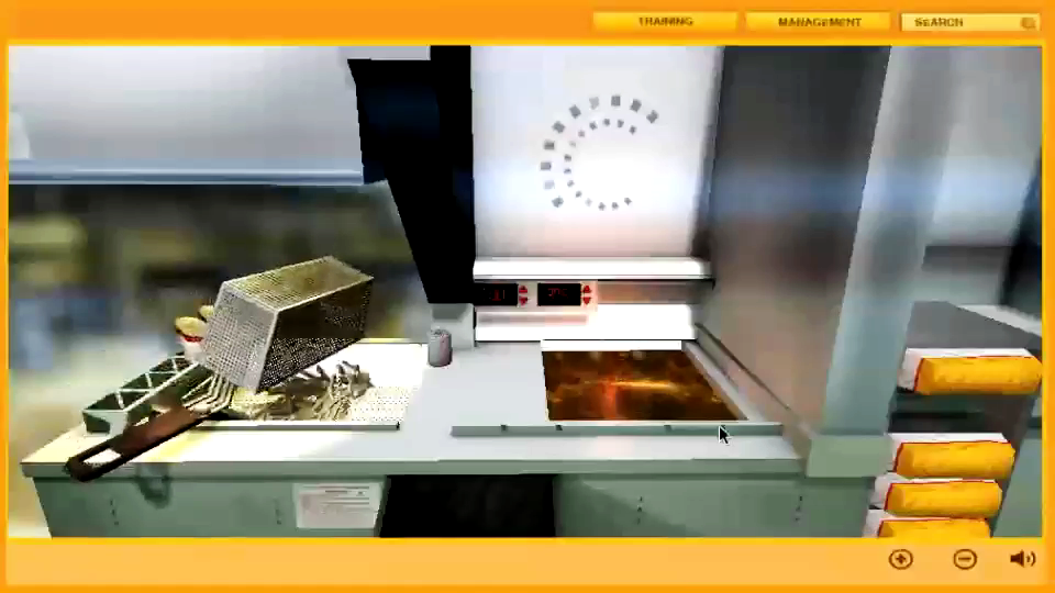 Fast Food Preparation Simulation, Training Simulations