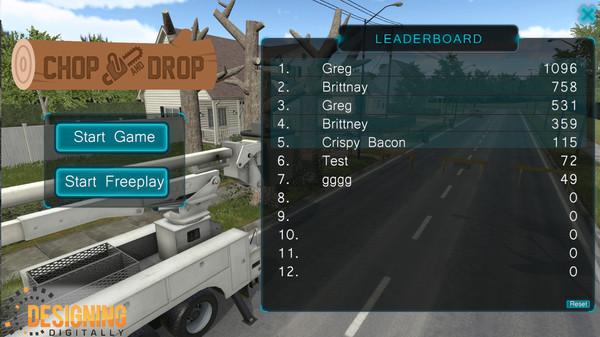 VR Chop & Drop