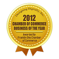 Franklin Ohio Chamber of Commerce - Business of the Year Badge