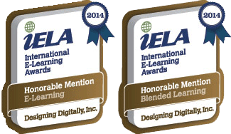 International eLearning Awards - Designing Digitally