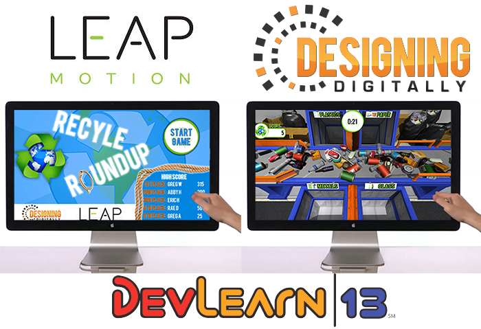Leap Motion Serious Game - Designing Digitally