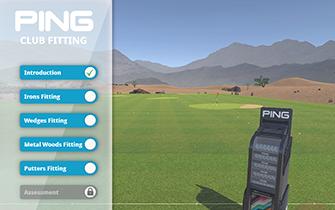 PING Golf Club Learning Simulation