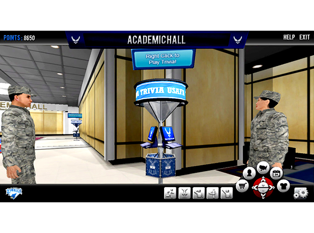 The Use of Serious Games in U.S. Air Force Training