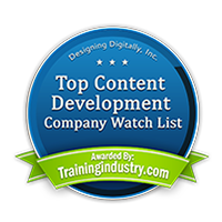 Training Industry Top Content Development Companies Watch List