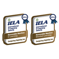 Two Honorable Mentions By the International E-Learning Association