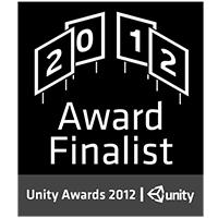 Unity3D Best Serious Game Award Finalist - 2nd Place - unity3d.com