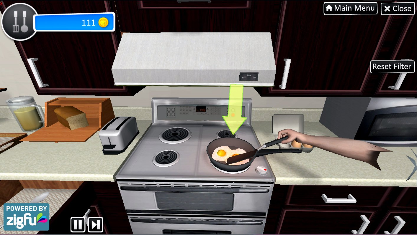 Virtual Occupational Therapy Assistant - Game Play