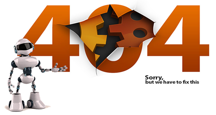 404 - Error Sorry we have to fix this.