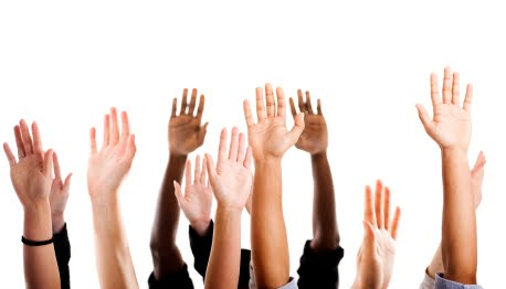 Hands in the Air Participating