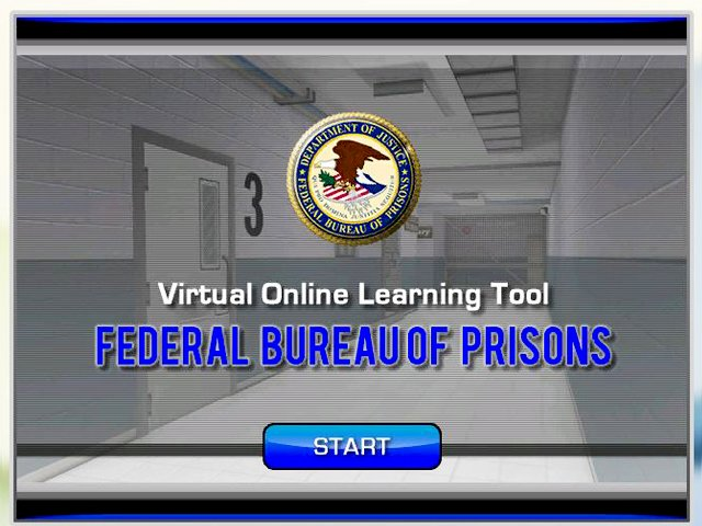 FBOP Prison Procedures 3D Training Simulation
