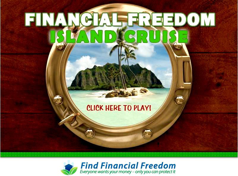 Find Financial Freedom Program - Start Screen
