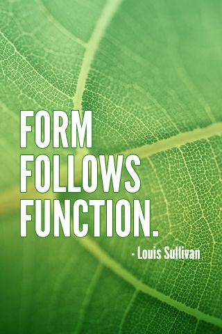 Online Learning: Form follows Function
