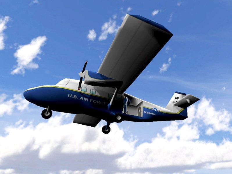Paratrooper Landing & Maneuverability  - Plane Flying