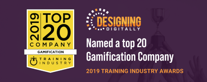 2019 Top 20 Gamification Company by Training Industry