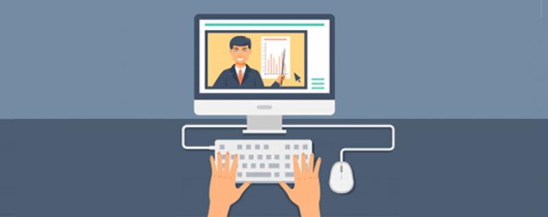 Employee learning simulation