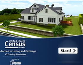 3D Simulation Census Bureau
