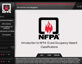 National Fire Protection Association (NFPA): 13 Standards for Online Learning