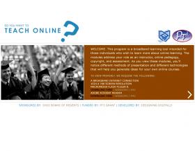 So You Wanna Teach Online?