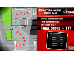 Air Marshall - Game Complete Screen