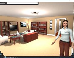 3D eLearning Simulation