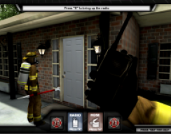 Firefighter Training Simulation - Opening the Door