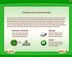 Find Financial Freedom Program - Game Controls
