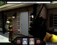 Firefighter Training Simulation - Opening the Door