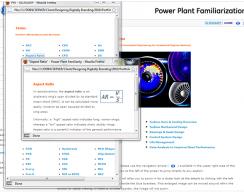 Power Plant Familiarization - Aspect Ratio Terms Screen