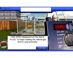 Gas Regulator Maintenance: Gas Detector