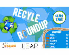 Recycle Roundup - Start Screen
