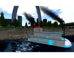 St. Louis Arch Virtual World  - Ferry