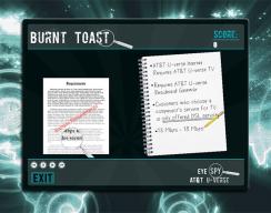 Eye Spy  - Burnt Toast