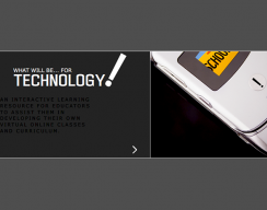 What Will be for Technology! - Main screen