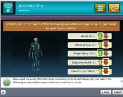 Tri-C 3D Stress Simulation Training -  Introduction Screen