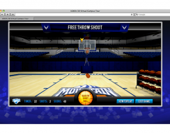 United States Air Force Academy - Free Throw Shoot