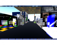 Wright Patterson Air Force Base (Tec^Edge) Virtual World Grid - Interactive Booths