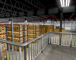 NFPA - 3D Warehouse above view
