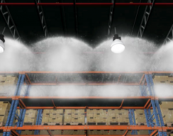 NFPA - 3D Warehouse sprinklers