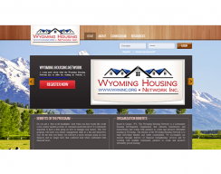 WHS Custom Learning Management System - Main Screen