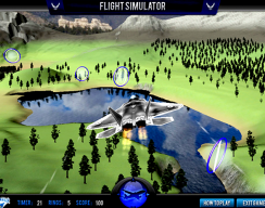 F22 Flight Simulator - Flying Simulation