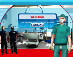 Trauma Unit - Welcome Screen