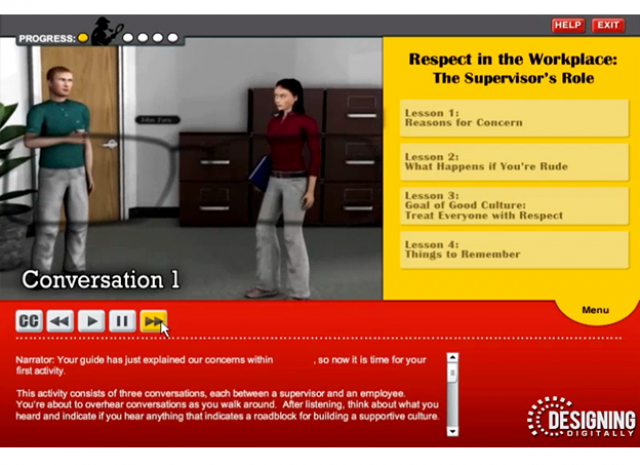 Culture of Civility and Respect - The Supervisors Role Conversation 1 Screen