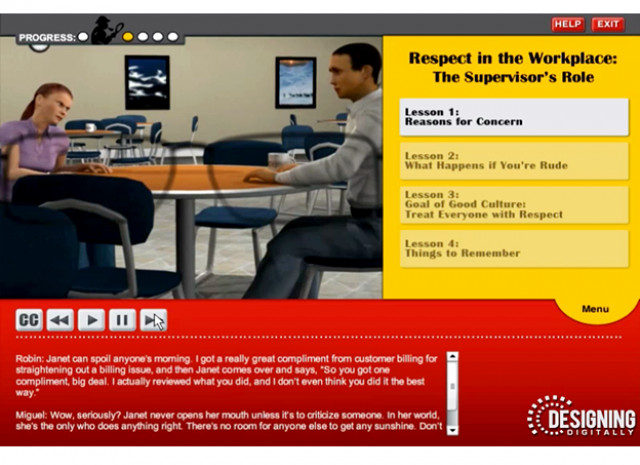 Culture of Civility and Respect - Click on the Civil Sentence Knowledge Check Screen